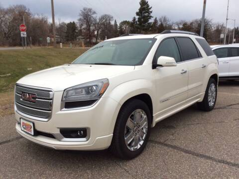 2013 GMC Acadia for sale at MOTORS N MORE in Brainerd MN