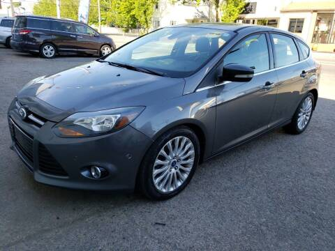 2012 Ford Focus for sale at Devaney Auto Sales & Service in East Providence RI