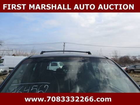 2001 Ford Escape for sale at First Marshall Auto Auction in Harvey IL