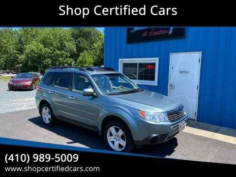 2010 Subaru Forester for sale at Shop Certified Cars in Easton MD