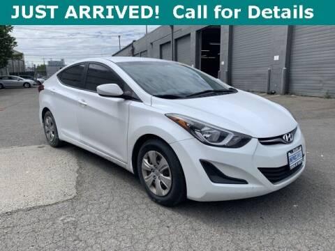2016 Hyundai Elantra for sale at Toyota of Seattle in Seattle WA