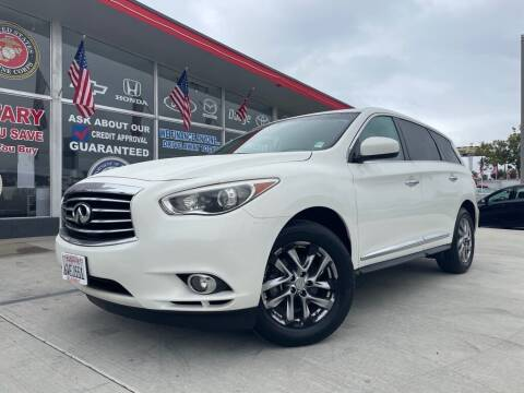 2013 Infiniti JX35 for sale at VR Automobiles in National City CA