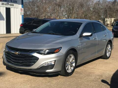2019 Chevrolet Malibu for sale at Discount Auto Company in Houston TX