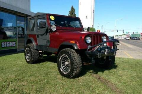 1985 Jeep CJ-7 for sale at Tower Motors in Brainerd MN