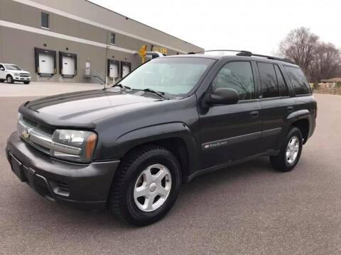 2003 Chevrolet TrailBlazer for sale at Angies Auto Sales LLC in Newport MN