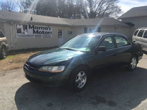 1998 Honda Accord for sale at Mama's Motors in Greer SC