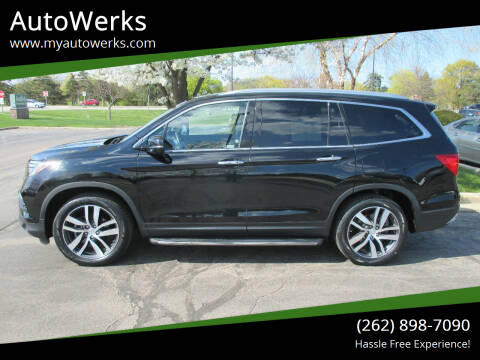 2018 Honda Pilot for sale at AutoWerks in Sturtevant WI