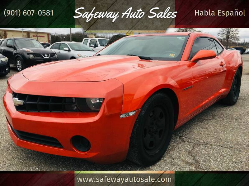 2012 Chevrolet Camaro for sale at Safeway Auto Sales in Horn Lake MS