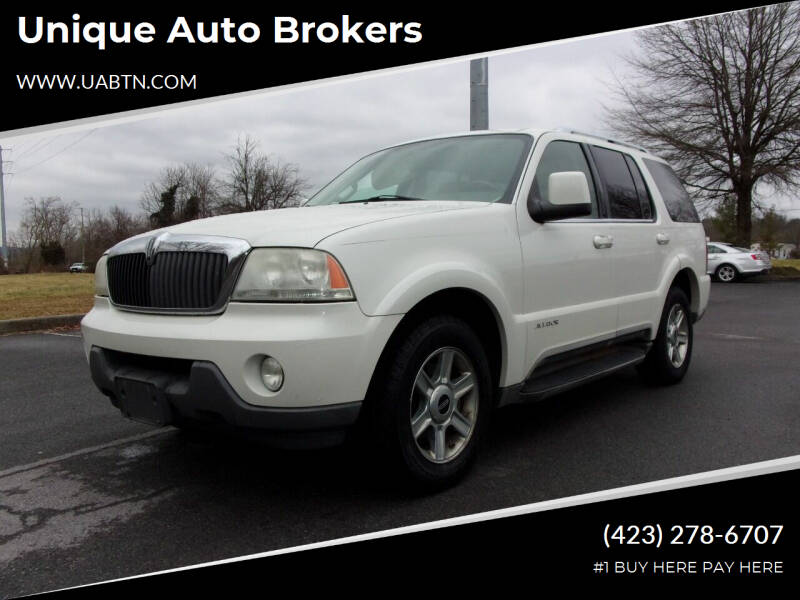 2004 Lincoln Aviator for sale at Unique Auto Brokers in Kingsport TN