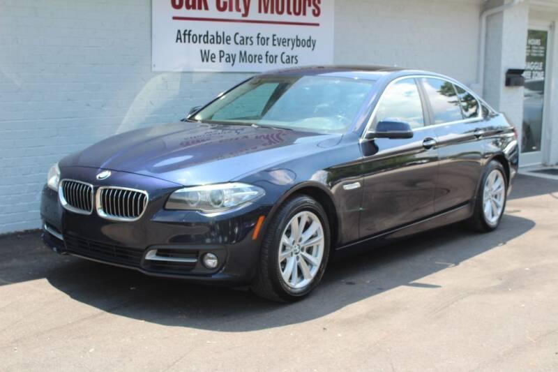 2015 BMW 5 Series for sale at Oak City Motors in Garner NC