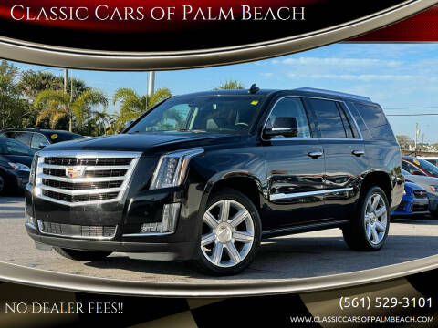 2016 Cadillac Escalade for sale at Classic Cars of Palm Beach in Jupiter FL