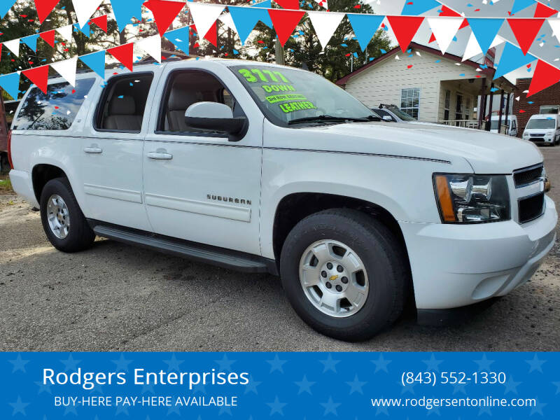 2014 Chevrolet Suburban for sale at Rodgers Enterprises in North Charleston SC
