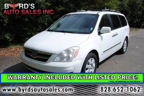 2008 Hyundai Entourage for sale at Byrds Auto Sales in Marion NC