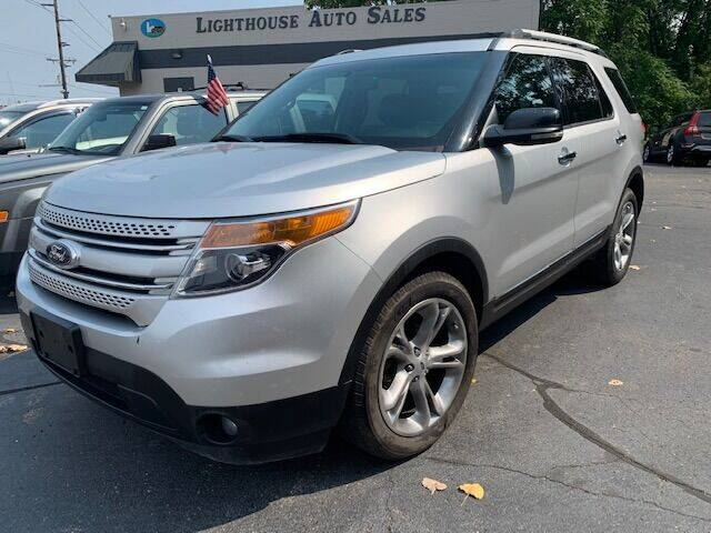 2013 Ford Explorer for sale at Lighthouse Auto Sales in Holland MI