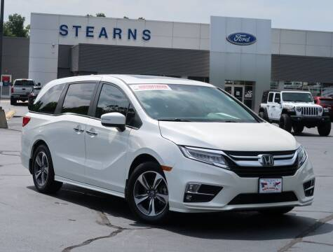 2018 Honda Odyssey for sale at Stearns Ford in Burlington NC
