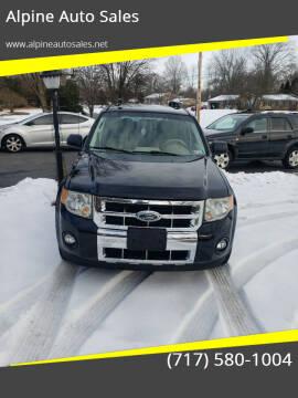 2009 Ford Escape for sale at Alpine Auto Sales in Carlisle PA