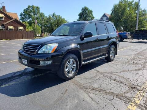 2004 Lexus GX 470 for sale at USA AUTO WHOLESALE LLC in Cleveland OH