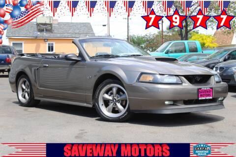 2002 Ford Mustang for sale at Saveway Motors in Reno NV