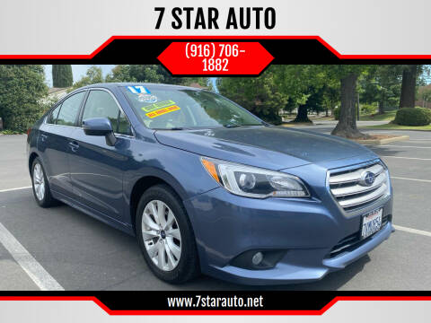 2017 Subaru Legacy for sale at 7 STAR AUTO in Sacramento CA