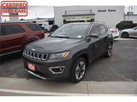 2020 Jeep Compass for sale at South Plains Autoplex by RANDY BUCHANAN in Lubbock TX