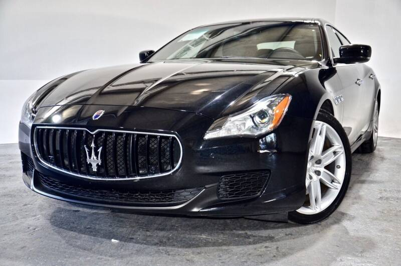 2015 Maserati Quattroporte for sale at Carxoom in Marietta GA