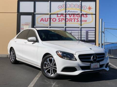 2017 Mercedes-Benz C-Class for sale at Las Vegas Auto Sports in Las Vegas NV