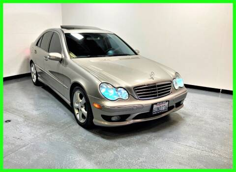 2005 Mercedes-Benz C-Class for sale at AMG Auto Sales in Rancho Cordova CA