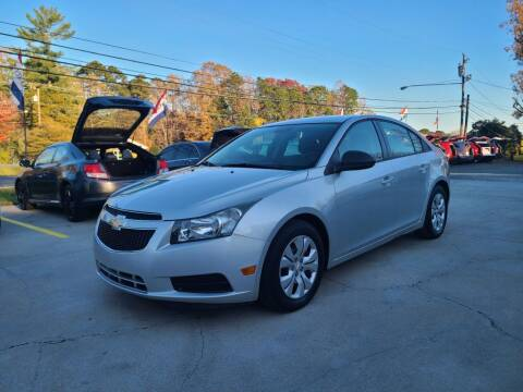 2013 Chevrolet Cruze for sale at DADA AUTO INC in Monroe NC