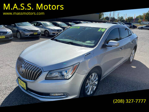 2014 Buick LaCrosse for sale at M.A.S.S. Motors in Boise ID