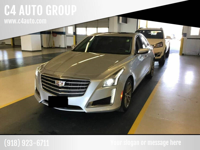 2018 Cadillac CTS for sale at C4 AUTO GROUP in Claremore OK