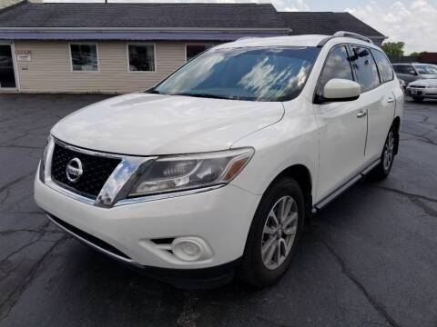 2014 Nissan Pathfinder for sale at Larry Schaaf Auto Sales in Saint Marys OH