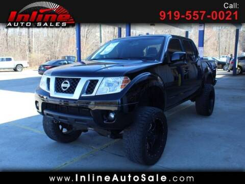 2013 Nissan Frontier for sale at Inline Auto Sales in Fuquay Varina NC