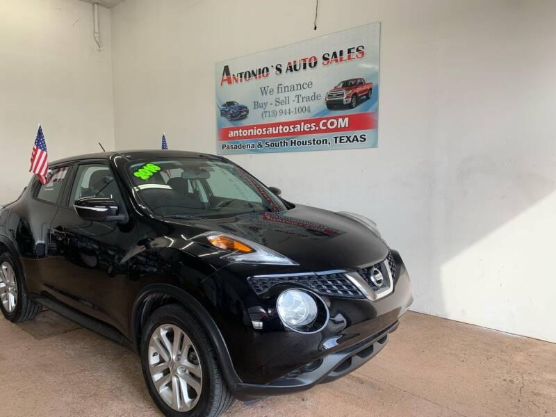 2016 Nissan JUKE for sale at Antonio's Auto Sales - Antonio`s  2206 in Pasadena TX