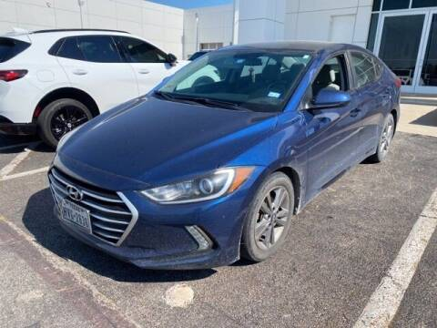 2017 Hyundai Elantra for sale at Jerry's Buick GMC in Weatherford TX