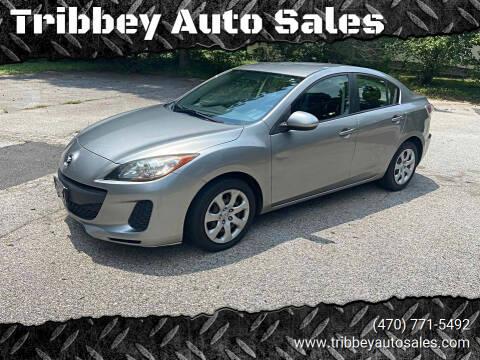 2012 Mazda MAZDA3 for sale at Tribbey Auto Sales in Stockbridge GA