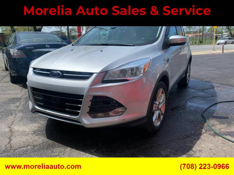 2013 Ford Escape for sale at Morelia Auto Sales & Service in Maywood IL