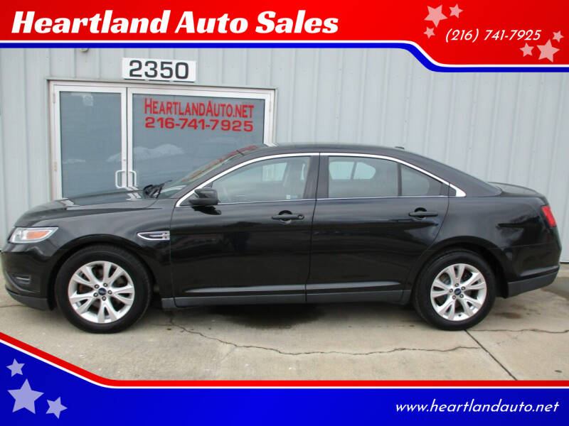 2010 Ford Taurus for sale at Heartland Auto Sales in Medina OH