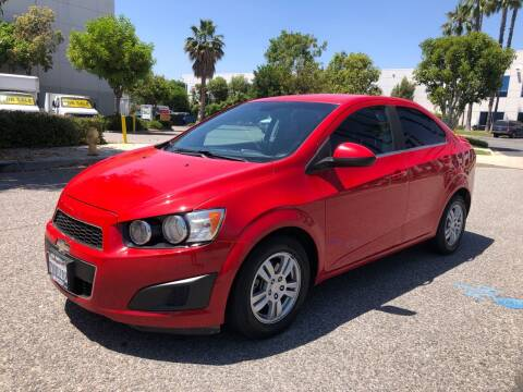 2012 Chevrolet Sonic for sale at Trade In Auto Sales in Van Nuys CA