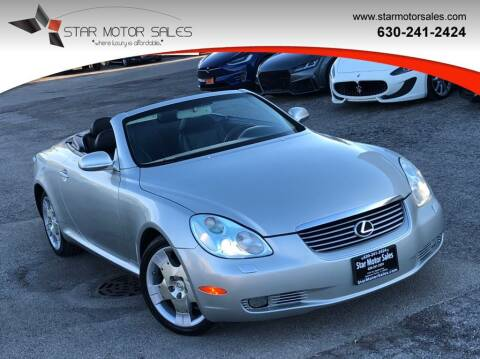 2005 Lexus SC 430 for sale at Star Motor Sales in Downers Grove IL