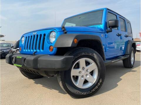 2009 Jeep Wrangler Unlimited for sale at MADERA CAR CONNECTION in Madera CA
