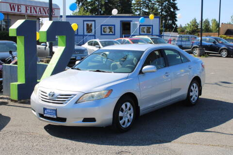 2007 Toyota Camry for sale at BAYSIDE AUTO SALES in Everett WA