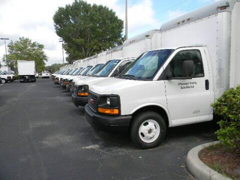 2012 GMC Savana Cutaway for sale at Longwood Truck Center Inc in Sanford FL