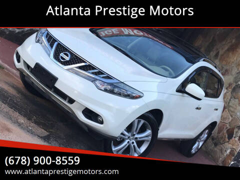 2011 Nissan Murano for sale at Atlanta Prestige Motors in Decatur GA