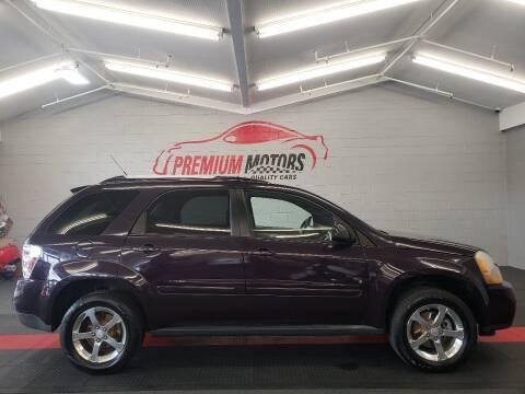 2007 Chevrolet Equinox for sale at Premium Motors in Villa Park IL