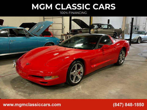 2001 Chevrolet Corvette for sale at MGM CLASSIC CARS in Addison, IL