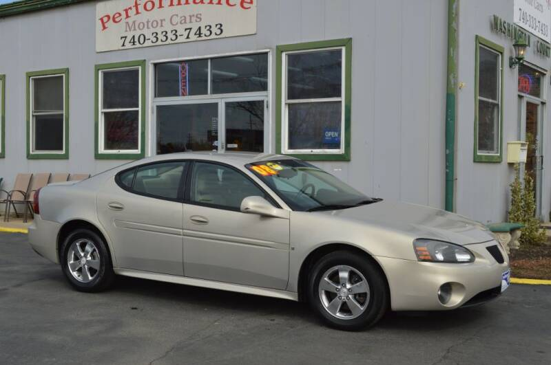 2008 Pontiac Grand Prix for sale at Performance Motor Cars in Washington Court House OH