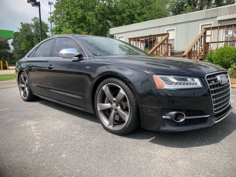 2015 Audi S8 for sale at BRYANT AUTO SALES in Bryant AR