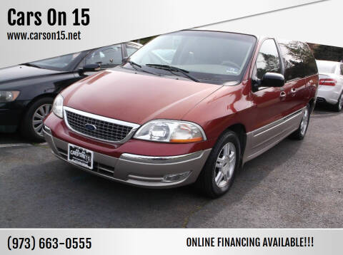 2003 Ford Windstar for sale at Cars On 15 in Lake Hopatcong NJ