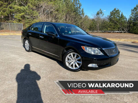 2008 Lexus LS 460 for sale at Selective Imports in Woodstock GA