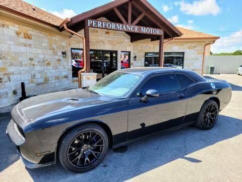 2014 Dodge Challenger for sale at Performance Motors Killeen Second Chance in Killeen TX